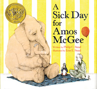 2011 Caldecott Award, A Sick Day for Amos McGee