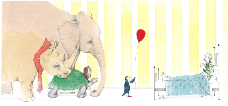 A Sick Day for Amos McGee - Caldecott Medal 2011