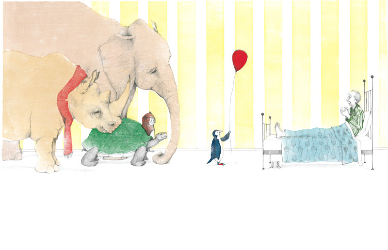 A Sick Day for Amos McGee, 2011 Caldecott Medal Winner